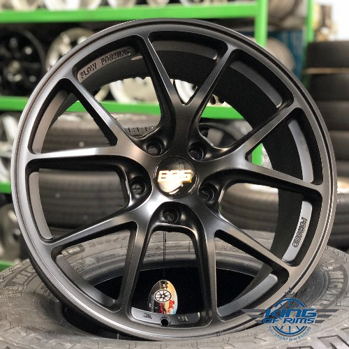 BBS FI Design FLOW FORM rim  (MATT BLACK)