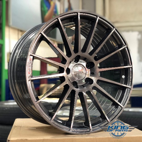 Asga Wheels (Titanium Brush) FLOW FORGED